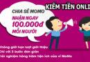 Kiếm 100 nghìn trong 15 phút với MOMO với 11 Ngân hàng