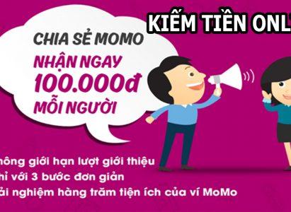 Tặng ngay 100k với Ví Momo – Hướng dẫn liên kết ngân hàng